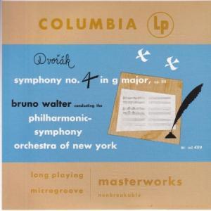 ドヴォルザーク 交響曲 第4(8)番、バーバー 交響曲 第1番、他/ワルター、ニューヨークフィル
