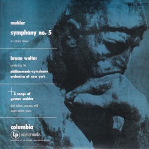 マーラー 交響曲 第5番、他/ワルター、ニューヨークフィル 他