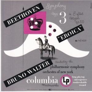 ベートーヴェン 交響曲 第3番「英雄」/ワルター、ニューヨークフィル