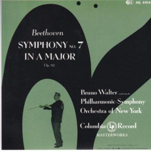 ベートーヴェン 交響曲 第7番、第8番/ワルター、ニューヨークフィル