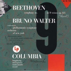 ベートーヴェン 交響曲 第9番『合唱』/ワルター。ニューヨークフィル