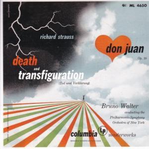 R.シュトラウス 交響詩『死と変容』『ドン・ファン』、ワーグナー ジークフリート牧歌/ワルター、ニューヨークフィル