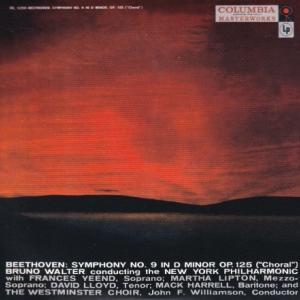 ベートーヴェン 交響曲 第9番『合唱』/ワルター、ニューヨーク・フィル