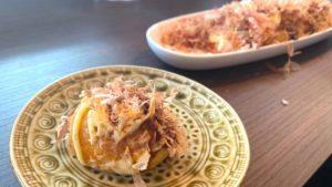 野町のTakoyaki Cafe&Bar「オクトバル」でたこ焼きランチ/石川