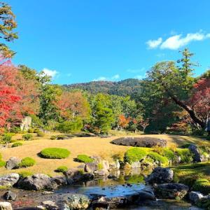 蹴上駅から徒歩♪秋色に染まる「無鄰菴」の素敵な日本庭園