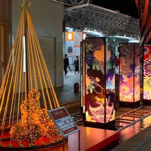 金沢駅でクリスマスと和を感じるイルミネーション