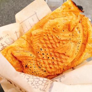 野々市の美味しいたい焼き屋さん「土九」の羽つきたい焼き!