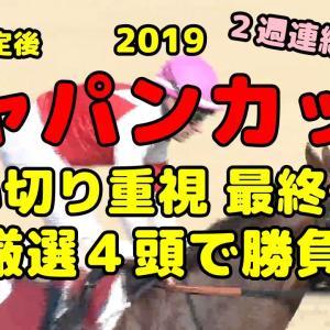 枠順確定【2019ジャパンC 穴馬】追い切りタイム考察&最終予想