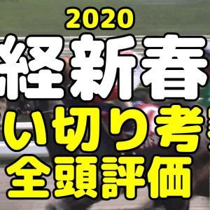 【日経新春杯2020 予想】最終追い切り 全頭評価まとめ
