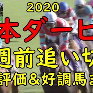 【日本ダービー2020】1週前追い切り 全18頭評価&予想