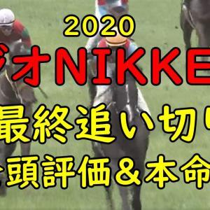 【ラジオNIKKEI賞2020 予想】最終追い切り 全頭評価まとめ