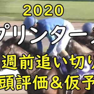 【スプリンターズS2020】1週前追い切り 全頭評価&考察