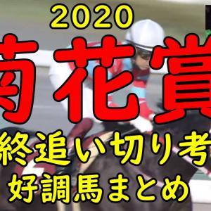 【菊花賞 2020】追い切り重視予想 全頭評価&最終結論