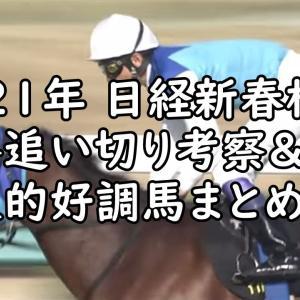 【日経新春杯 2021 予想】最終追い切り評価&好調馬まとめ
