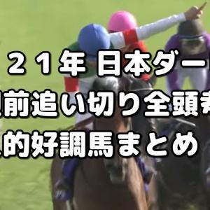 【日本ダービー 2021 予想】1週前追い切り全頭評価&好調馬まとめ