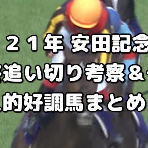 【安田記念 2021 予想】最終追い切り評価&好調馬まとめ