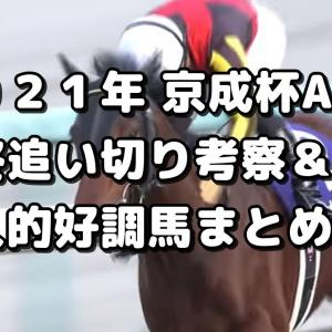 【京成杯AH 2021 予想】最終追い切り評価&好調馬まとめ