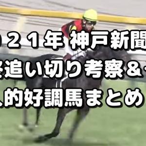【神戸新聞杯 2021 予想】最終追い切り評価&好調馬まとめ