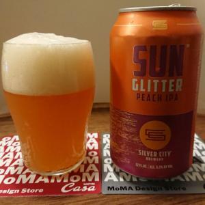 麦酒礼賛112 - SUN GLITTER PEACH IPA ~ SILVER CITY BREWERY