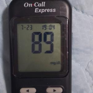 血糖測定機きたー!
