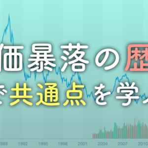 【株価暴落の歴史】暴落は最長5年続く?暴落から戦略を考えよう