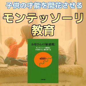 書評「お母さんの敏感期」子供の自立を助けるモンテッソーリ教育?