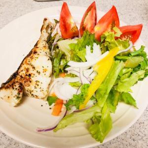 【手抜き】白身魚のバジルオイル焼き