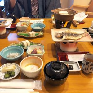 【朝食】箱根水明荘で朝食を頂いたよ