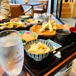 【ランチ】型無 味都で天麩羅おでん御膳を食べてきたよ