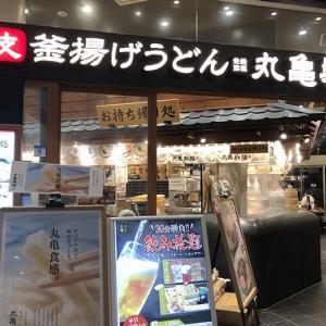 【締め】丸亀製麺ハマサイトで飲み放題は、30分1,000円セットの予定でした