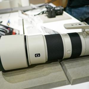 SONY 200-600mm F5.6-6.3 G OSS に対する憶測