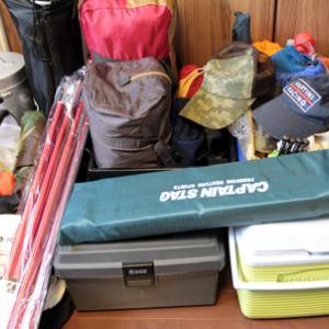 北海道キャンプ遠征の準備を・・・