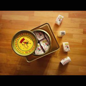シンガポール土産に喜ばれる!卓球少女のレトロ缶に詰まっている〇〇〇
