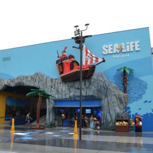 シンガポールから行くレゴランドマレーシア - 幼稚園児と楽しむレゴランドの水族館 -