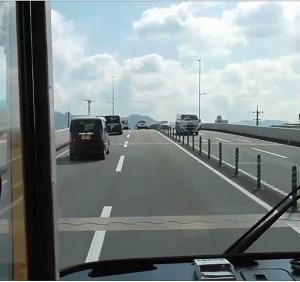 【前面展望】特快1番 折尾⇒砂津 西鉄バス北九州