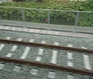 折尾駅から本城駅の単線区間、2020年5月4日現在