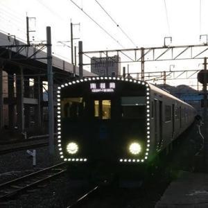 821系9両編成と日豊本線朝ラッシュを西小倉駅と南小倉駅で