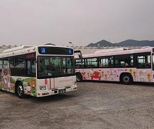 「ハローキティ」キャラクターバスの運行終了:北九州市営バス