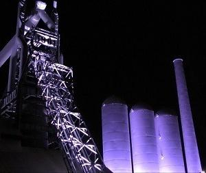 東田第一高炉跡ライトアップ 北九州未来創造芸術祭 ART for SDGs