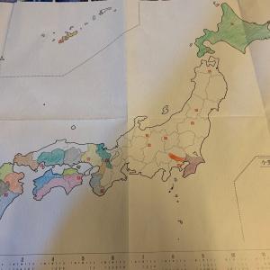色鉛筆で日本を世界を制覇