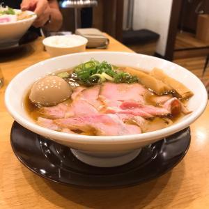 味玉鶏そば880円@中華そばココカラサキゑ in 大阪市淀川区西宮原