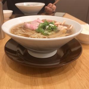 【限定】純系名古屋コーチンの冷やし鶏そば(醤油)880円@中華そばココカラサキゑ