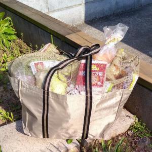 近所のスーパーのレジでの袋詰めサービス、マイバスケット○、マイバッグ×