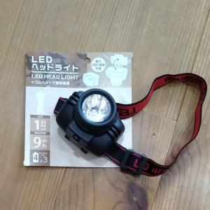 【防災】子どもの耳かきにも便利!ヘッドライトも買ってあります