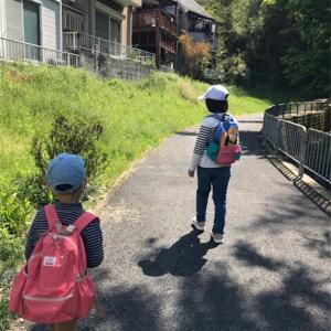 [育児]休校中 自宅学習としての遠足(山登り)
