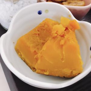 レンジで作る〖かぼちゃの煮物〗