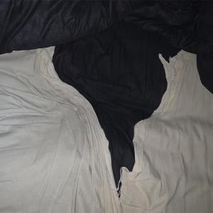 【一日一捨】ベッドシーツが破れたので、掃除に使って断捨離します