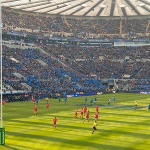 ラグビーワールドカップ 日本対スコットランド