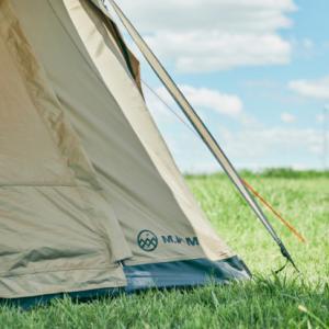 【新ブランド】M.W.Mのエアーテントシェルター「READY Tent」