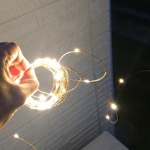 ながーく使えるワイヤー型ライト「REVEL GEAR Camping Light」